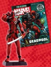 Classic Marvel Figurine Collection #056 Deadpool Eaglemoss Publications